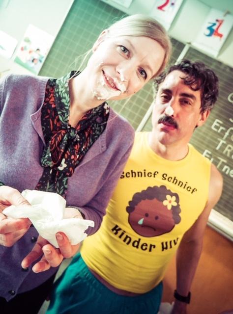 mit meinem geliebten Kollegen Alex Schubert / Die Läusemutter / Antje Widdra