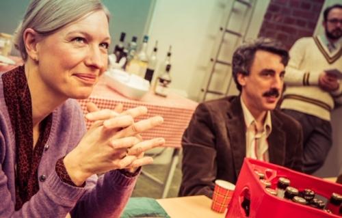 mit meinem geliebten Kollegen Alex Schubert / Die Läusemutter